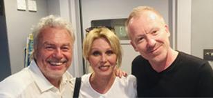 Gary Stevenson, Joanna Lumley & Simon Britton
