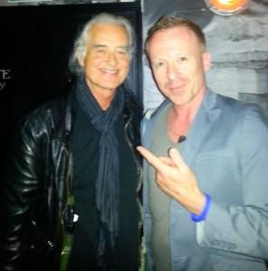 Jimmy Page & Simon Britton