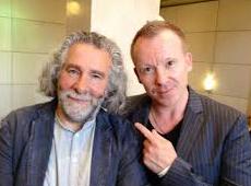 Kevin Godley with Simon Britton