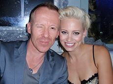 Simon Britton & Kimberly Wyatt of PCD