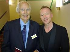 Sir George Martin with Simon Britton